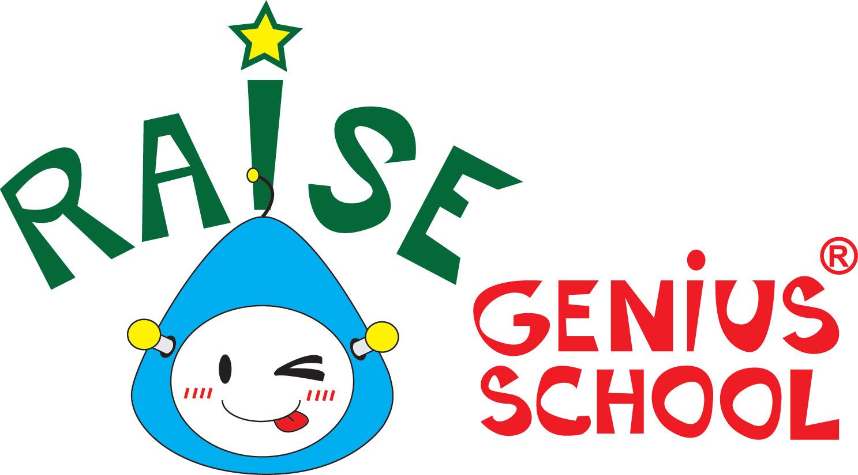 LOGO Raise Genius School small size